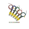 Thermocouple Kit, Teflon-coated, Color-Indexed, Mini- connector, Type-K, SLE