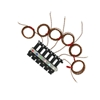 6 Pcs T/C Kit, Glass-coated, Brown, Micro-connector, Type-K, SLE